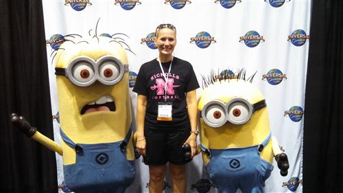 Minions and me.