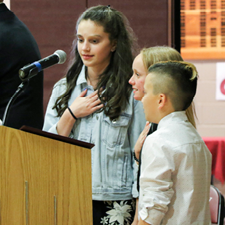 Photo Gallery: 6th Grade Moving Up Ceremony