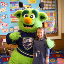 N.A. Walbran Elementary Student Places 2nd in Utica Comets Coloring Contest