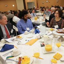 Jr./Sr. High School Students Network with Business and Community Leaders at SABA Breakfast