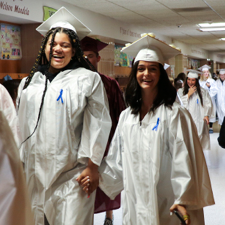 Oriskany Hosts Senior Walk for Soon-To-Be Grads